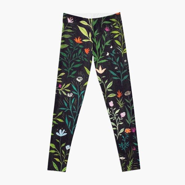 Midnight Garden Leggings
