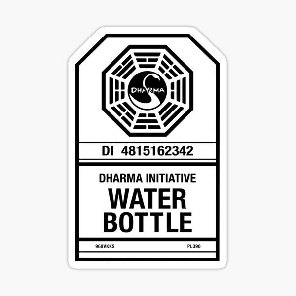 Dharma Water Bottle Sticker
