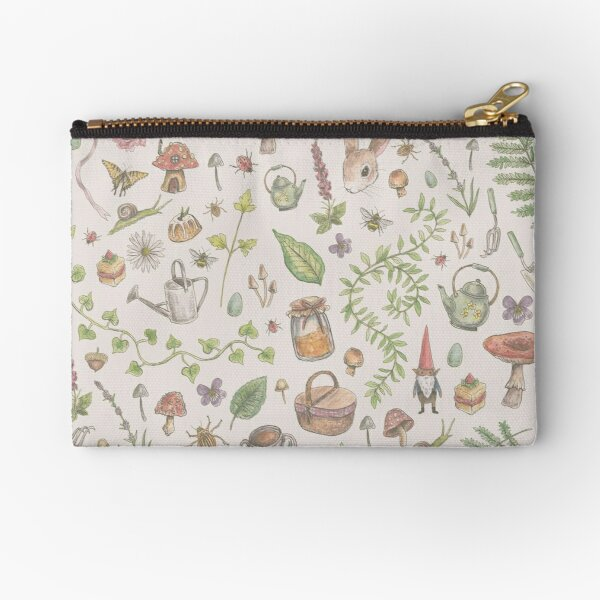 Cottagecore - faded pink Zipper Pouch