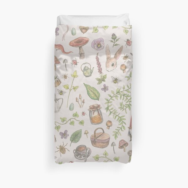 Cottagecore - faded pink Duvet Cover