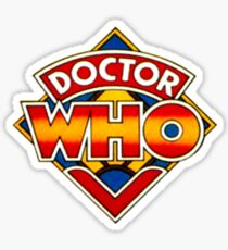 Doctor Who Logo. Sticker