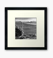 Historic Ship Parade - 75th Anniversary of the Golden Gate Bridge Framed Print