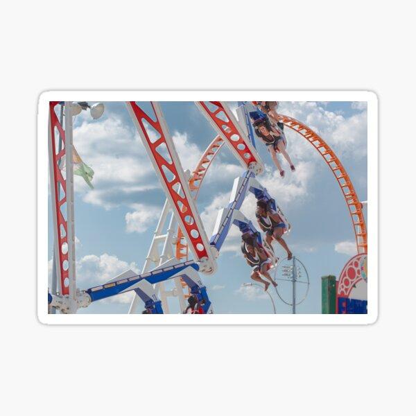Carousell - Luna Park in Coney Island Sticker