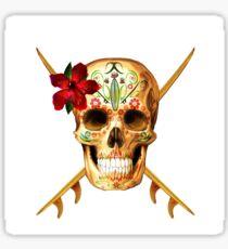 Skull She Sticker