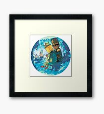 Cave of Frozen Memories (Community) Framed Print