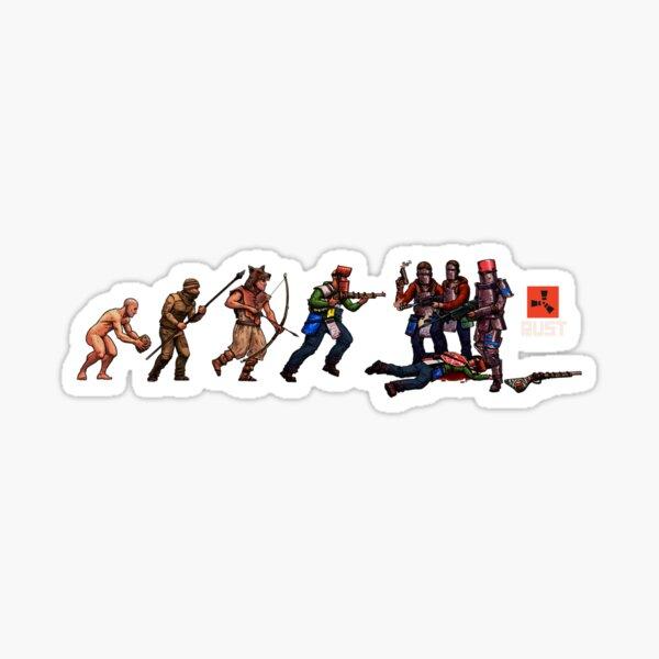RUST EVOLUTION Sticker