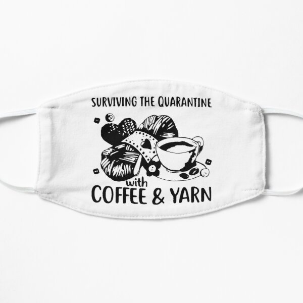 Surviving The Quarantine With Coffee And Yarn Mask