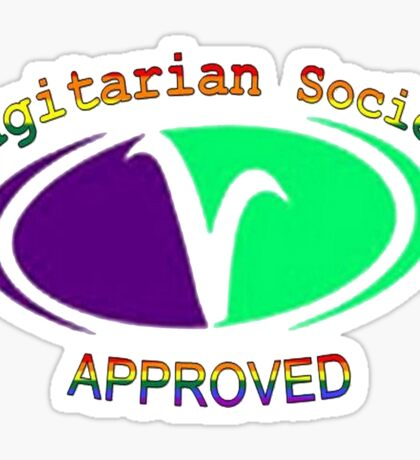 Vagitarian Society: Approved Sticker