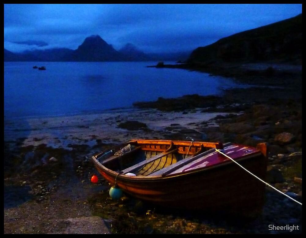 Elgol harbour, Skye by Sheerlight