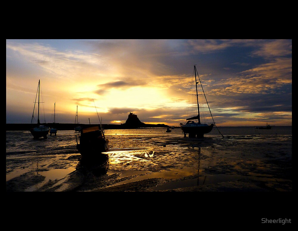 Lindisfarne, Holy island first light by Sheerlight