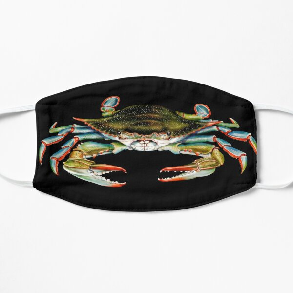 Blue Crab Flat Mask
