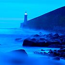 Tynemouth blue hour by Sheerlight