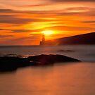 Where mermaids play......Tynemouth sunrise by Sheerlight