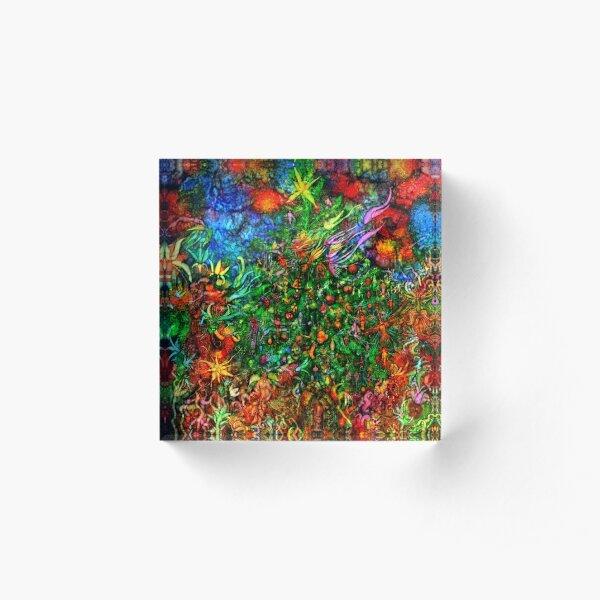 Qualia's Christmas Acrylic Block