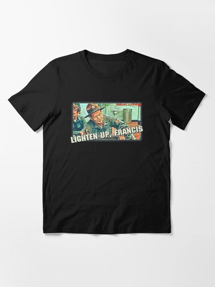 Alternate view of STRIPES - Lighten up Francis Essential T-Shirt