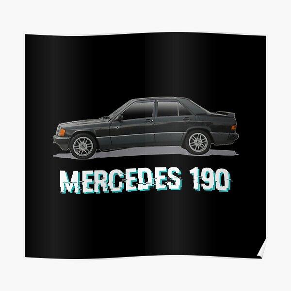 - MERCEDES 190 - Poster