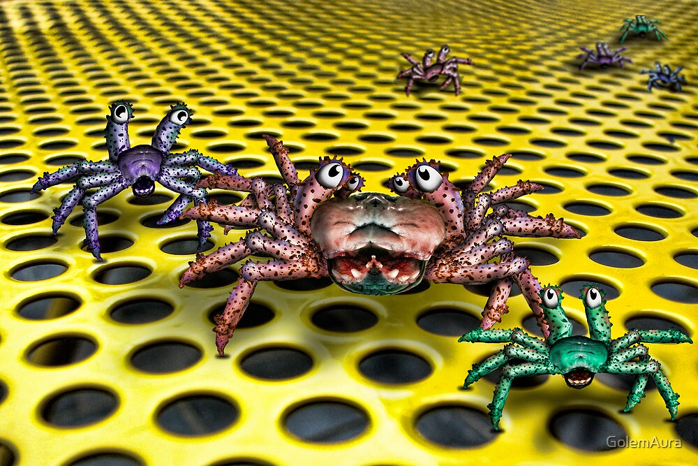 Spliced Crab Twin by GolemAura