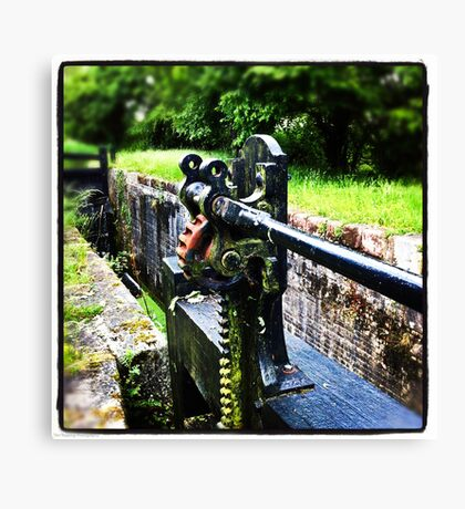 Lock Mechanism Canvas Print