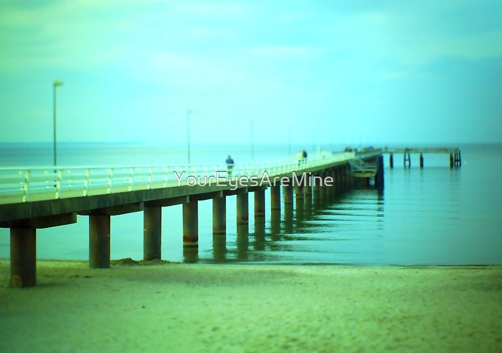Sea bridge dream by OLIVER W