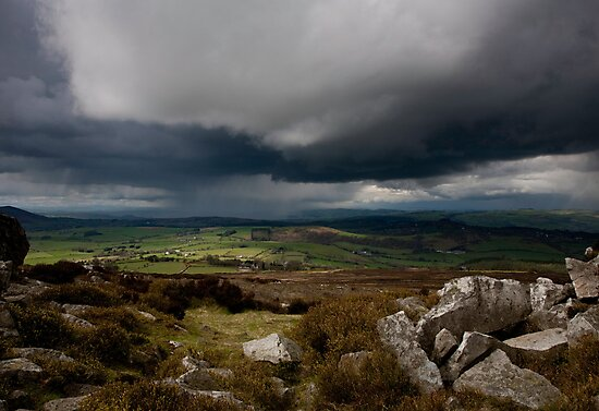 View From 'The Stiperstones' by Mike Doyle