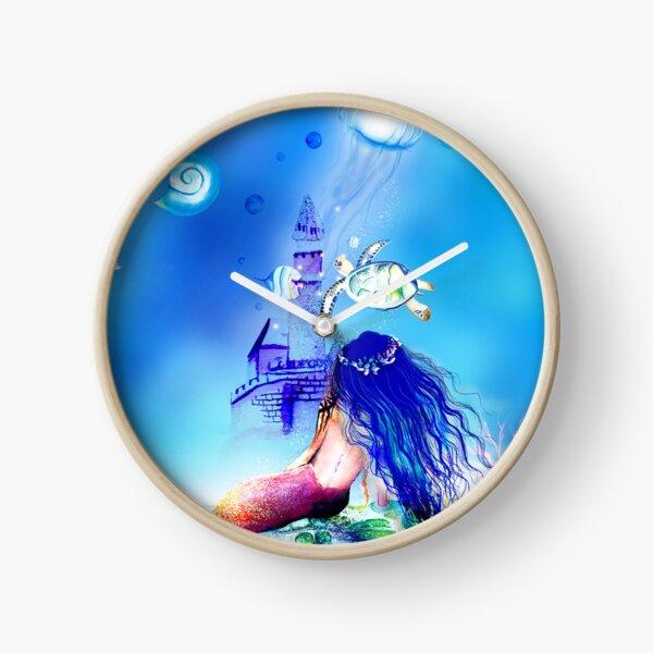 Mermaidluminesce  Clock