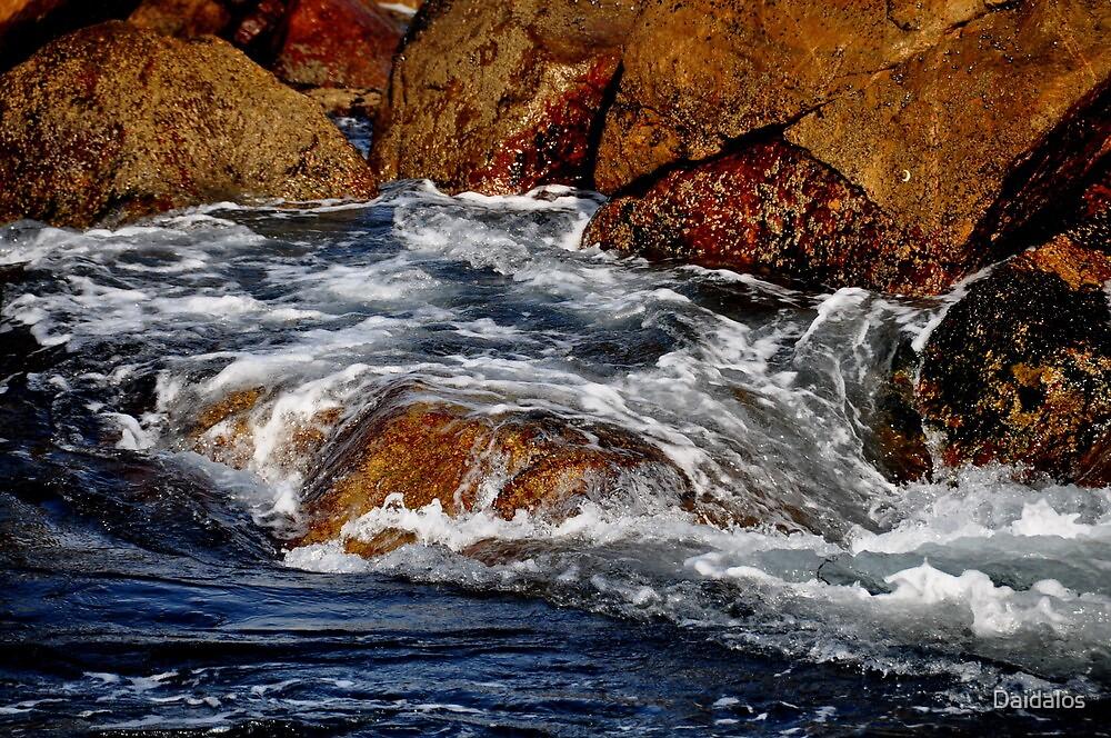 water in motion by Daidalos