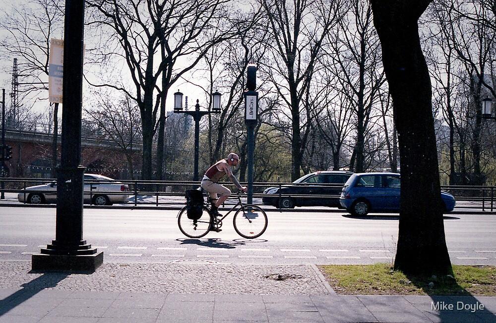 Berlin Biker by Mike Doyle