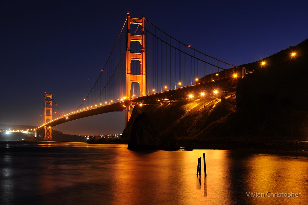 Golden Gate Bridge by Vivian Christopher