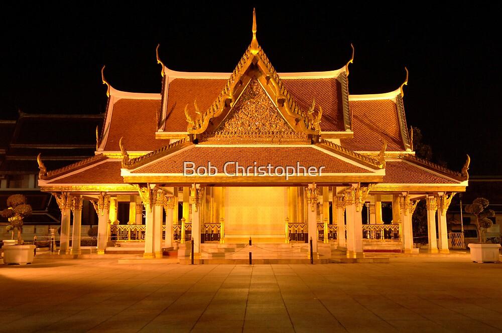 Golden Temple Bangkok by Bob Christopher