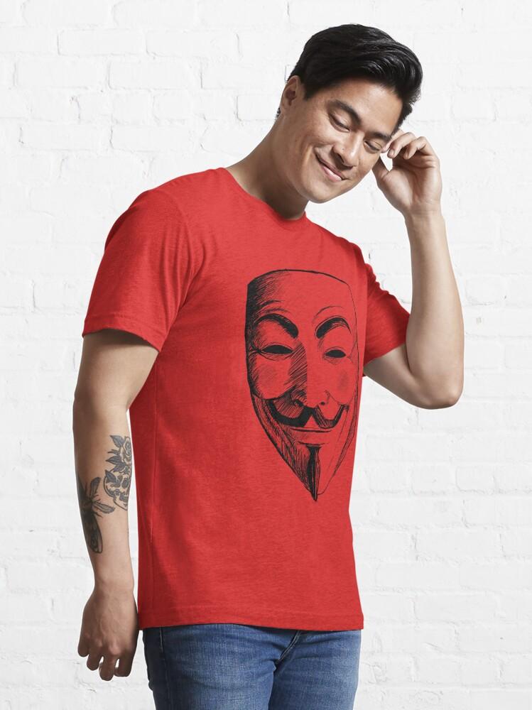 Alternate view of V for Vendetta Essential T-Shirt