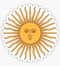 Funny Awesome Sun Sticker