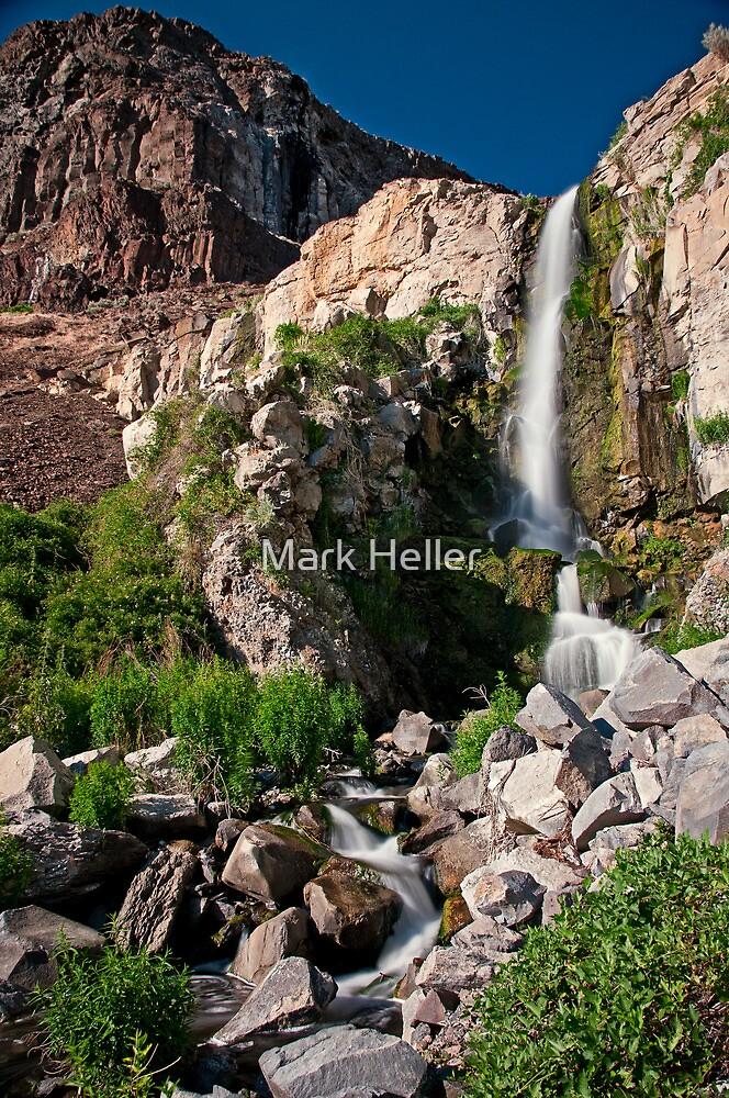 Ancient Lake Falls - Quincy Natl Wildlife Refuge by Mark Heller