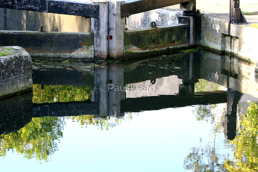 CANAL REFLECTION by Paul Dean