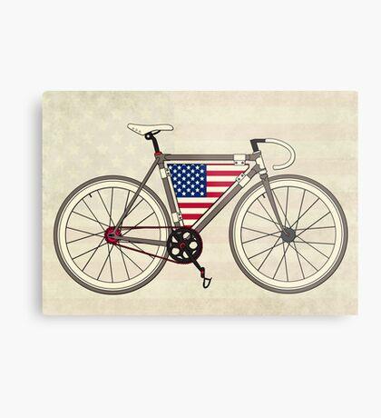 Love Bike, Love America Metal Print