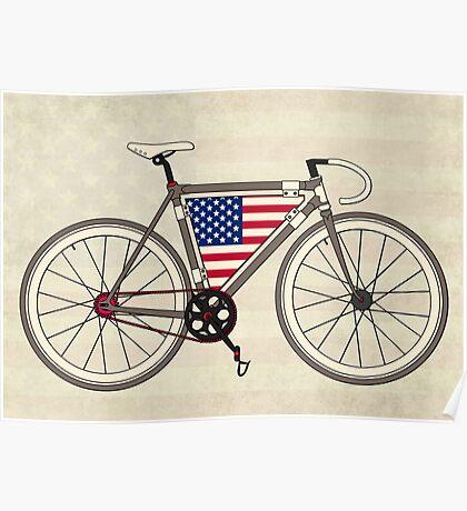 Love Bike, Love America Poster