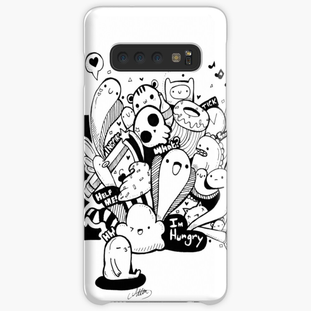 Cute Doodle 1 Case & Skin for Samsung Galaxy