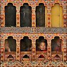 Little Monks by Kasia Nowak