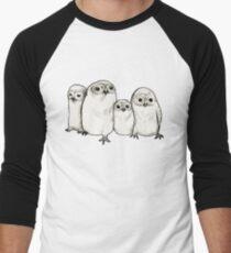 Owlets Men's Baseball ¾ T-Shirt