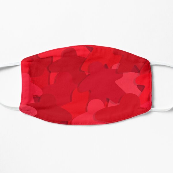 Masque Meeple (rouge) Masque taille M/L
