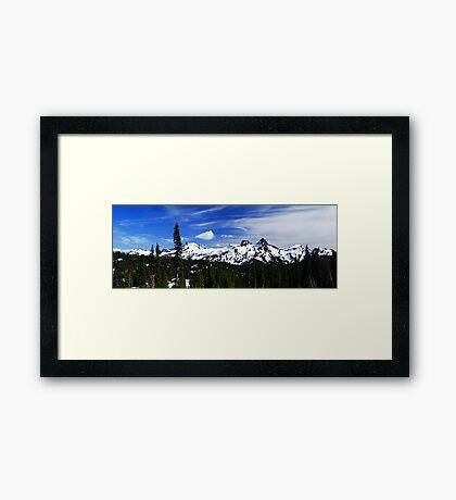 Tatoosh Range Framed Print