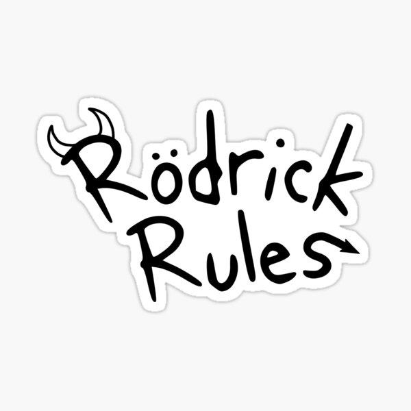Rodrick Heffley Stickers Redbubble