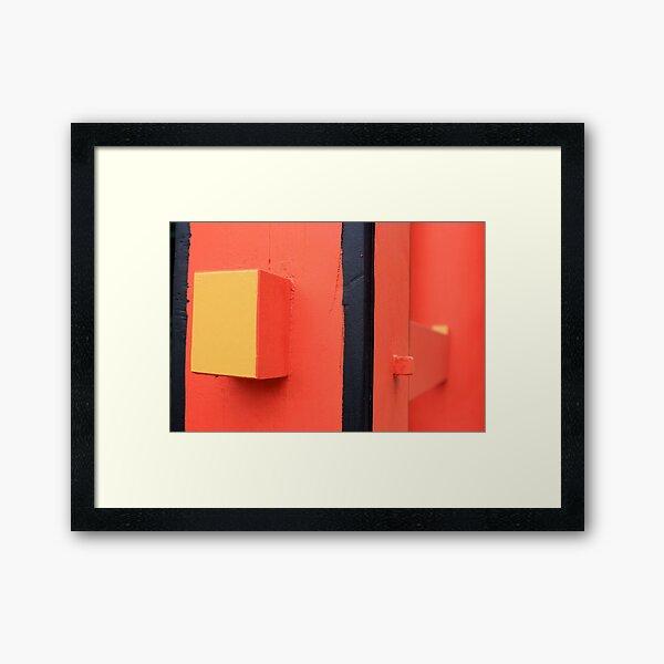 Shintô abstract Framed Art Print