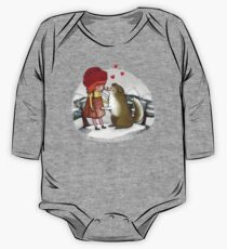 Red Riding Hat One Piece - Long Sleeve