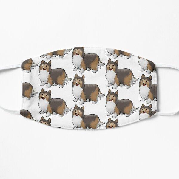 Shetland Sheepdog Flat Mask