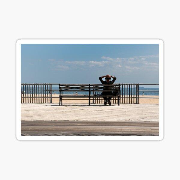 Brighton Beach Walk Way Sticker