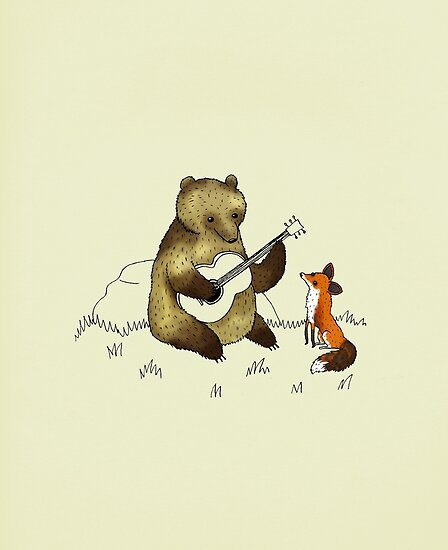 Bear & Fox by Sophie Corrigan