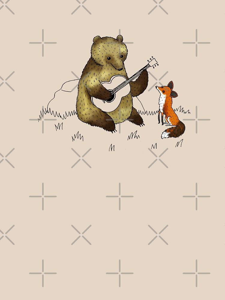 Bear & Fox by SophieCorrigan
