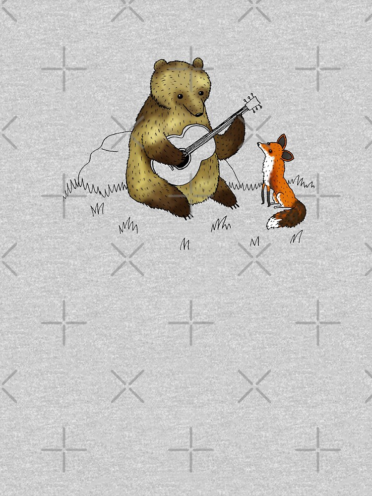 Bear & Fox by SophieCorrigan