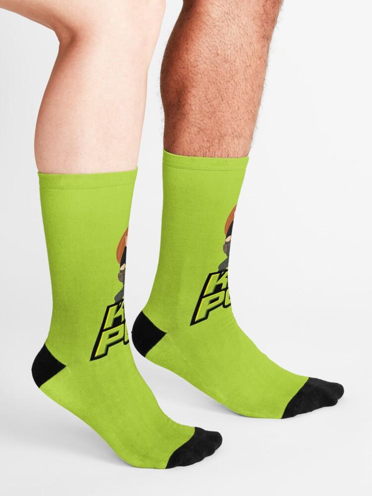 Alternate view of kim possible Socks