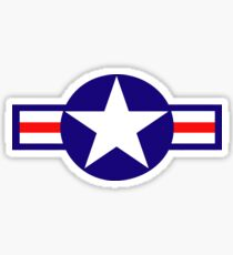 Aviation - US Army - Cool Star Sticker